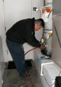 hot water heater services