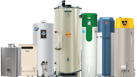 San Jose water heater products w tankless