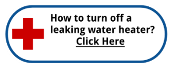 Turn off a leaking water heater
